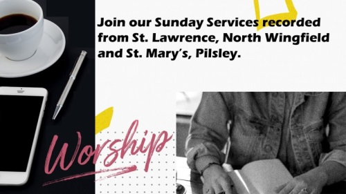 Link to North Wingfield Team services of St. Mary's & St. lawrences churches.