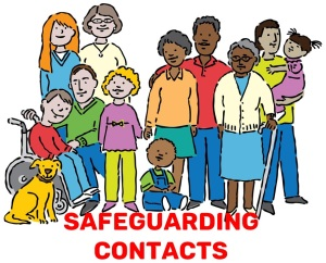 Safeguarding contact page